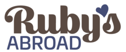 Ruby's Abroad Logo